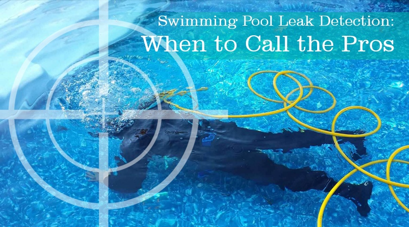 Swimming Pool Leak Detection When To Call The Pros